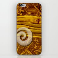 geology iPhone & iPod Skins featuring Geology 3 by Patricia Howitt