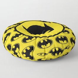 Super Hero Bat Shield Floor Pillow