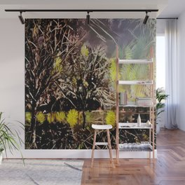 Flowerful Spring Trees Wall Mural