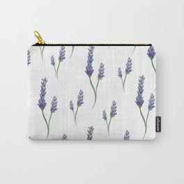 Lavender Sprigs Carry-All Pouch