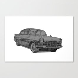 Vauxhall Cresta PA Canvas Print