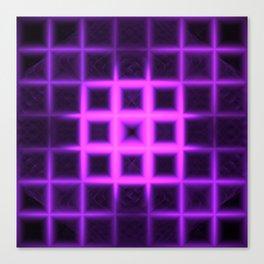 Electric Sudoku Canvas Print