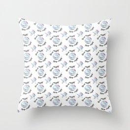 Good night, sleep tight Throw Pillow