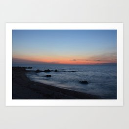 Greenport Sunset Art Print