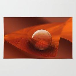 Orange Ball Rug
