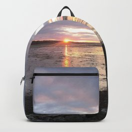 Panoramic Sunset on the Cove Backpack