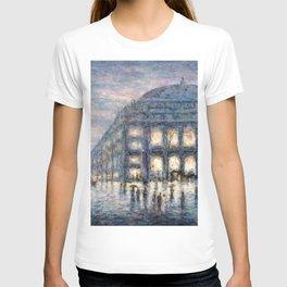 View of the Theâtre du Châtelet by Maximilian Luce T-shirt