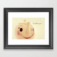 I'm a Little Teapot Framed Art Print