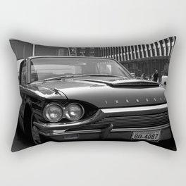 Vintage Thunderbird Car Rectangular Pillow