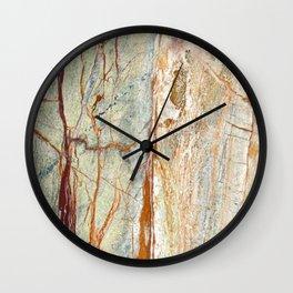 Colorful Textured Granite Wall Clock