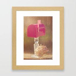 Sending out Love Framed Art Print