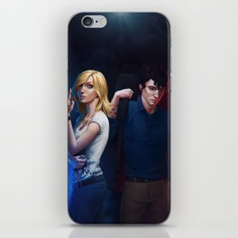 Rebel Princess and Sunai iPhone Skin