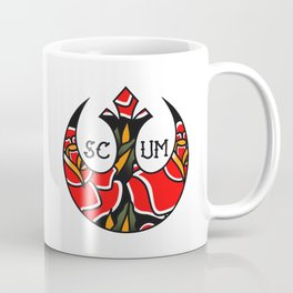 Rebel Scum Tattoo Flash Coffee Mug