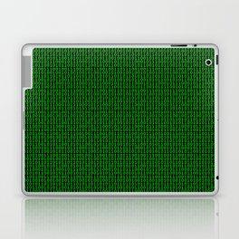 Binary Green Laptop & iPad Skin