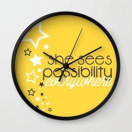 Sue Wall Clock