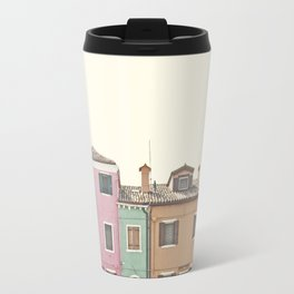 Colored Houses Travel Mug