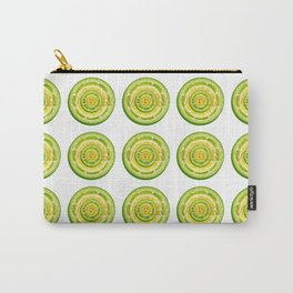 Lime and Lemon Slices VEGAN typography Carry-All Pouch