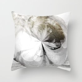 Breath of Frost Throw Pillow