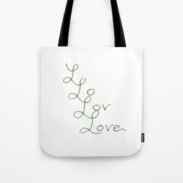 Love Times Four Tote Bag
