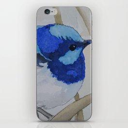 Blue Bird (Sold - original) iPhone Skin