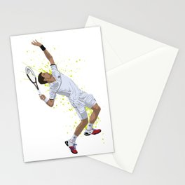 Novak Djokovic Stationery Cards