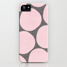 pink pebbles Slim Case iPhone (5, 5s)