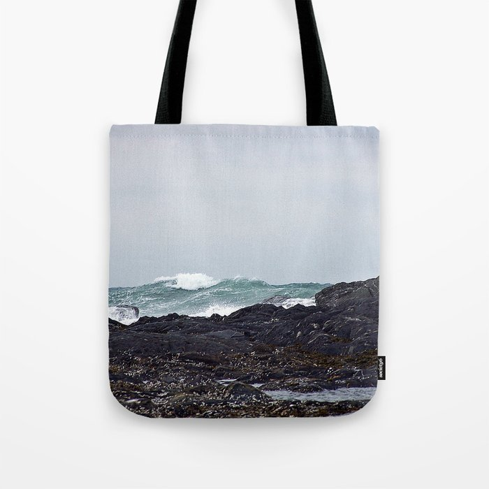 Late Winter Surf Tote Bag