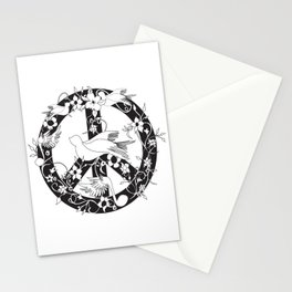 Peace for Bizzy Stationery Cards