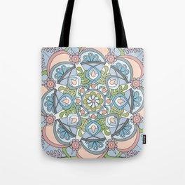 Introspective Mandala Tote Bag