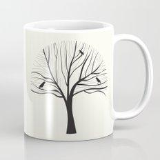 bird tree Mug