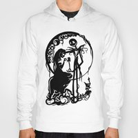 nightmare before christmas Hoodies featuring A Nightmare Before Christmas by iankingart