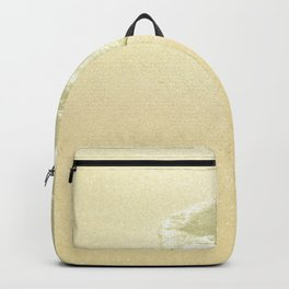 beach sparkling golden sand Backpack