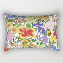 Morning Blooms Rectangular Pillow