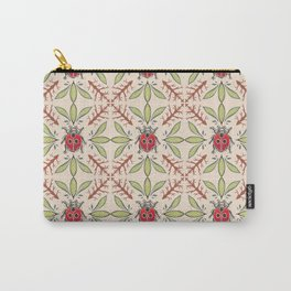 Garden lady bug pattern Carry-All Pouch