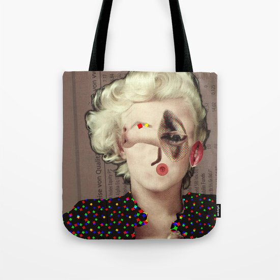 Mix Marilyn Collage 2 Tote Bag