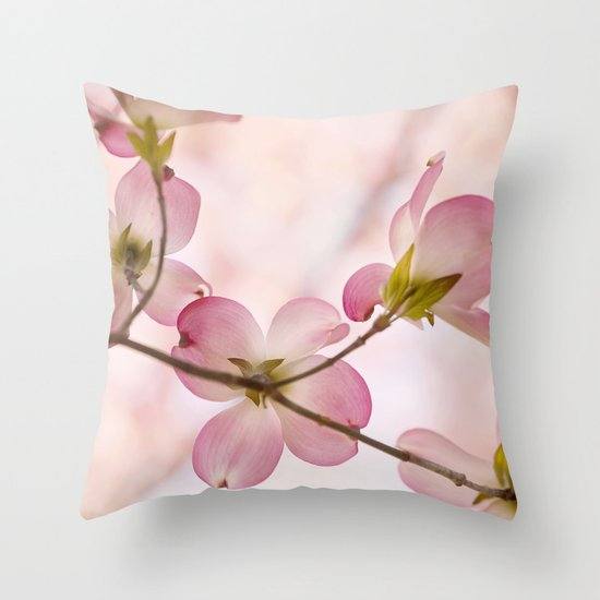 Turn Around Throw Pillow
