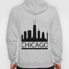 chicago skyline Hoody