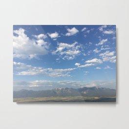 Wide Open Sky Metal Print