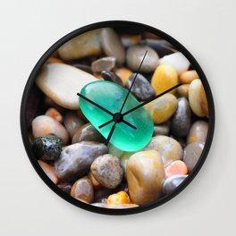 Emerald shine Wall Clock