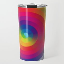 Color Sprial Travel Mug