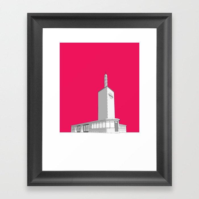 Osterley station Framed Art Print