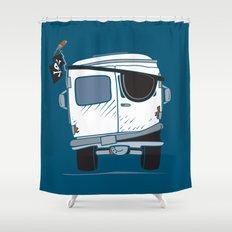 The Booty Wagon Shower Curtain