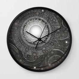 Luna Kiss Wall Clock
