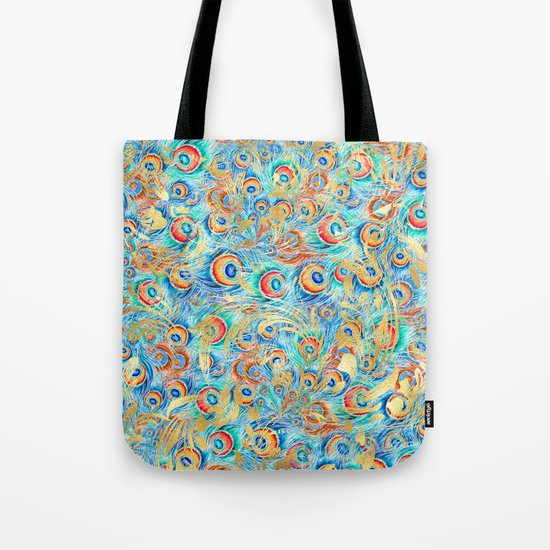 Feather peacock #11 Tote Bag