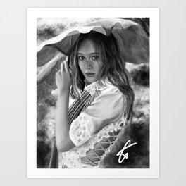 Alycia Debnam-carey Art Print