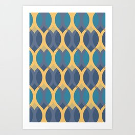 Spring 2018 Pattern Collection Art Print