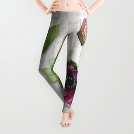 Botanica I Plants and Flowers Leggings