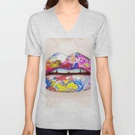 Colorful Languish Unisex V-Neck