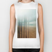 wander Biker Tanks featuring Wander by Bella Blue Photography