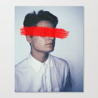 anonymous Canvas Prints featuring Anonymous. by James Drysdale Photography